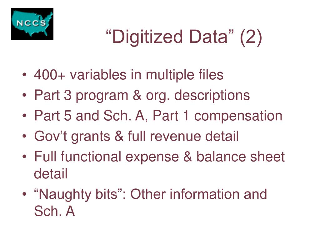 """Digitized Data"" (2)"