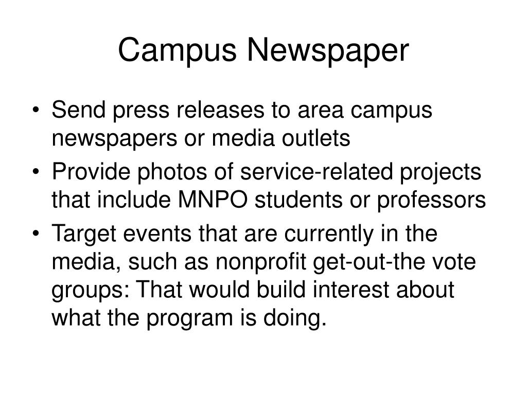 Campus Newspaper