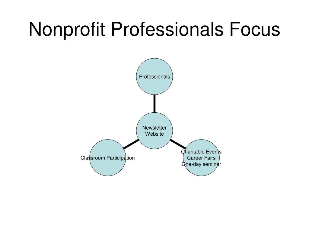 Nonprofit Professionals Focus