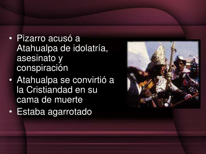 Pizarro acus