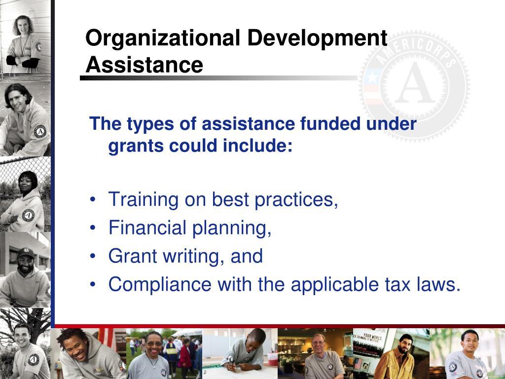 Organizational Development Assistance