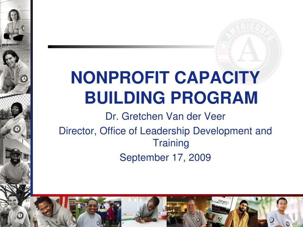 NONPROFIT CAPACITY BUILDING PROGRAM