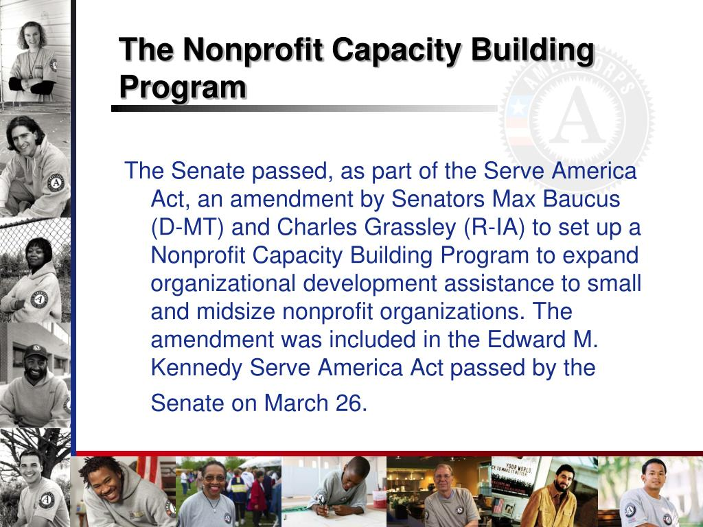 The Nonprofit Capacity Building Program