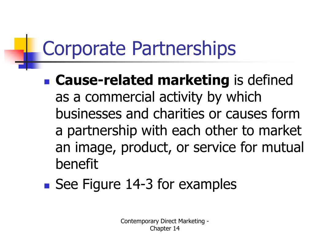 Corporate Partnerships