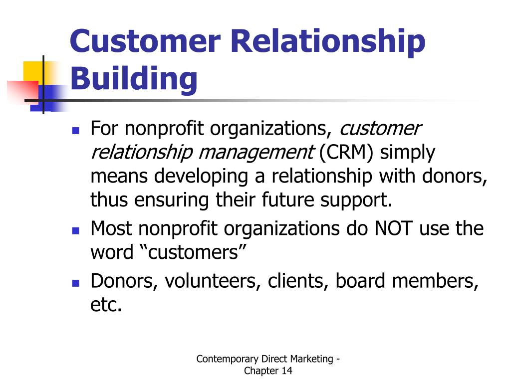 Customer Relationship Building