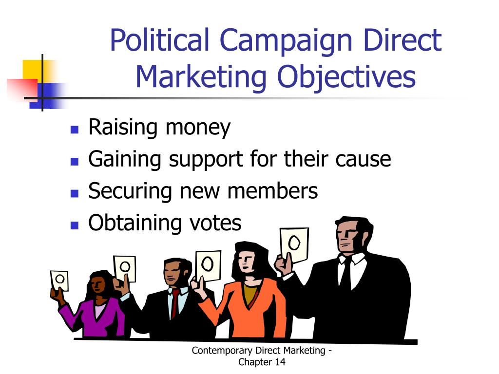 Political Campaign Direct Marketing Objectives