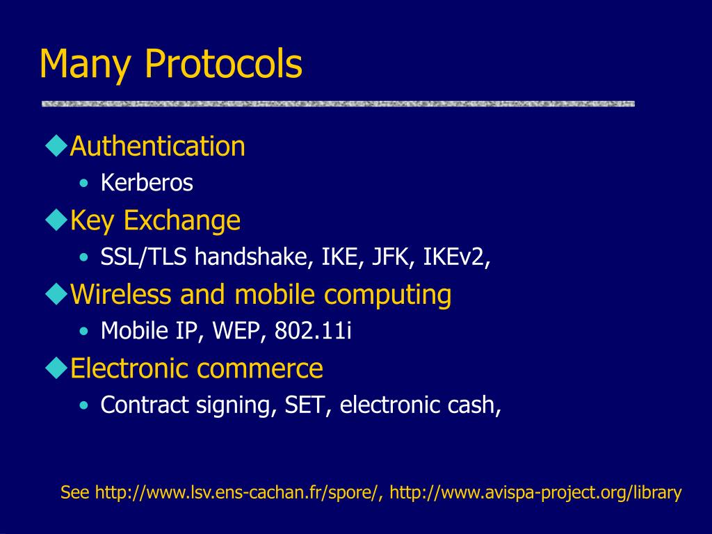 Many Protocols