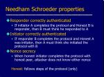 needham schroeder properties