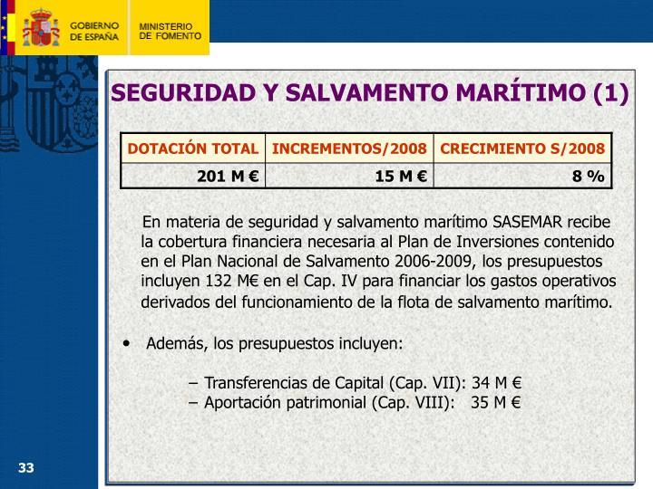 SEGURIDAD Y SALVAMENTO MARÍTIMO (1)