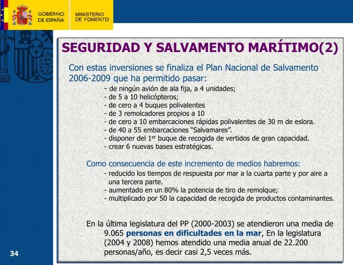 SEGURIDAD Y SALVAMENTO MARÍTIMO(2)