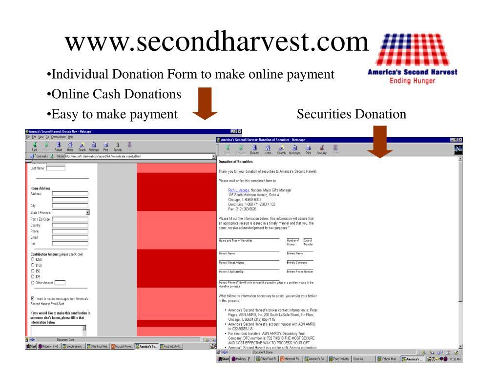 www.secondharvest.com