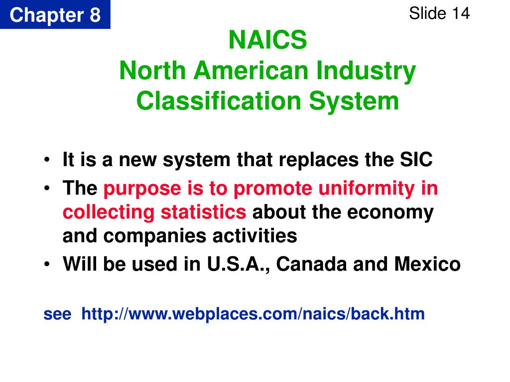 It is a new system that replaces the SIC