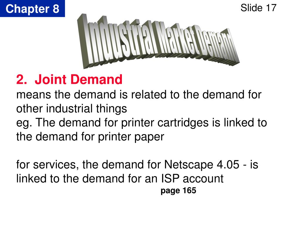 Industrial Market Demand