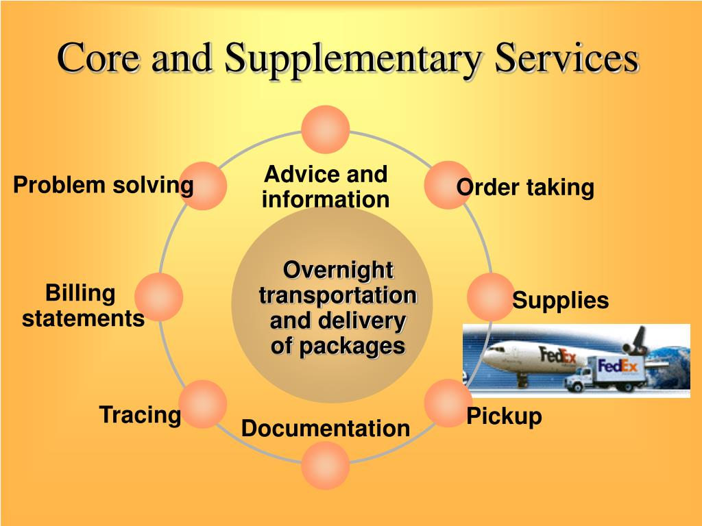 Core and Supplementary Services
