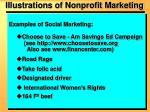 illustrations of nonprofit marketing