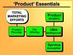 product essentials