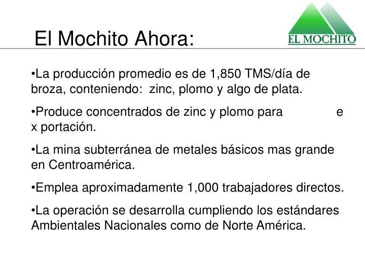 El Mochito Ahora: