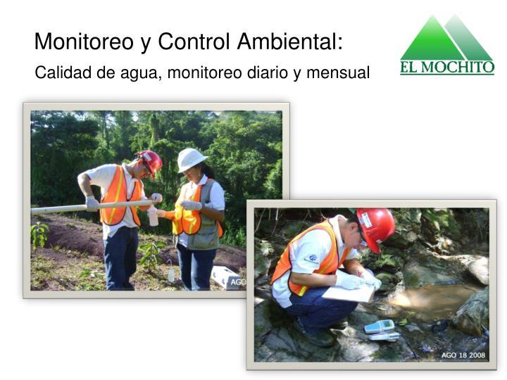 Monitoreo y Control Ambiental: