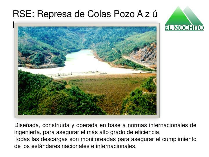 RSE: Represa de Colas Pozo A z ú l