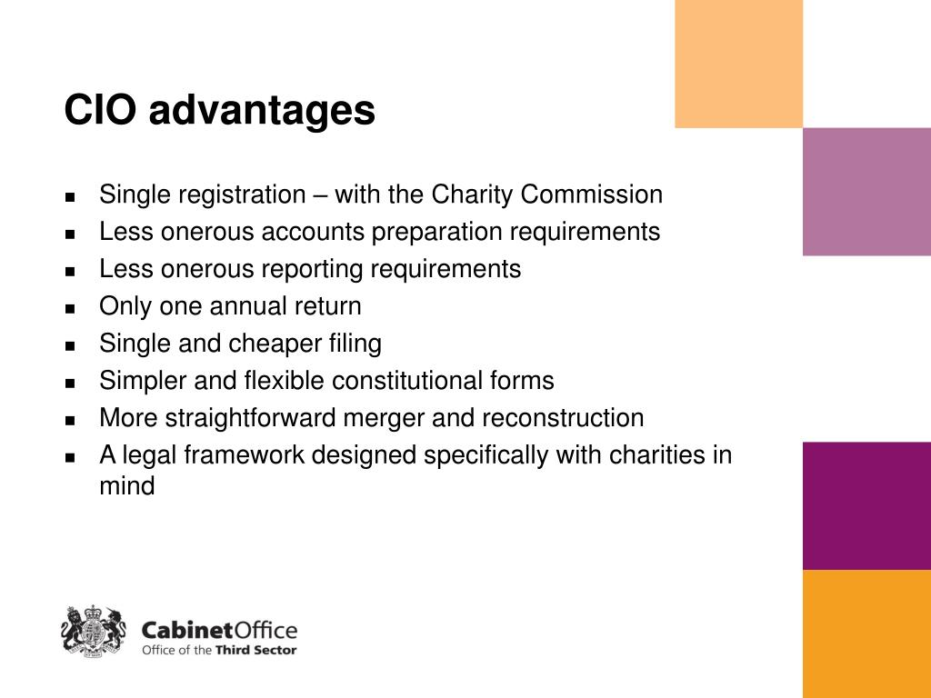 CIO advantages