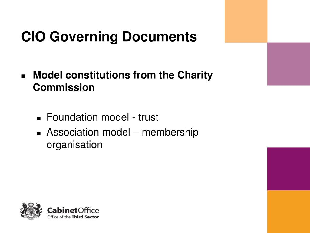 CIO Governing Documents