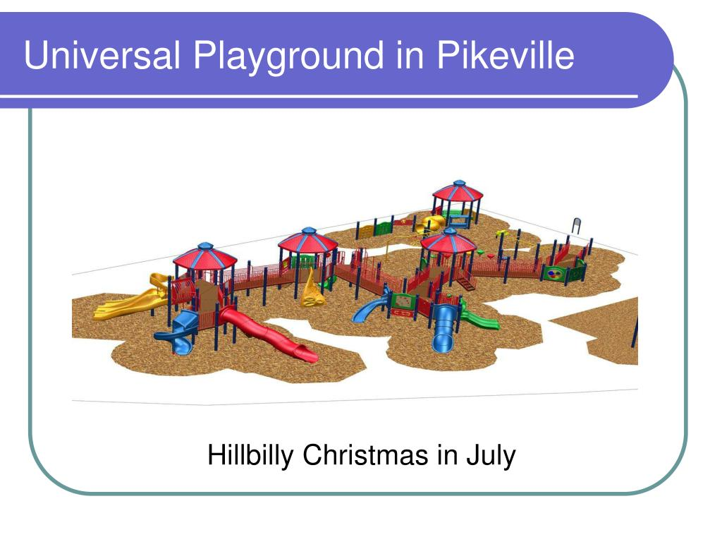 Universal Playground in Pikeville