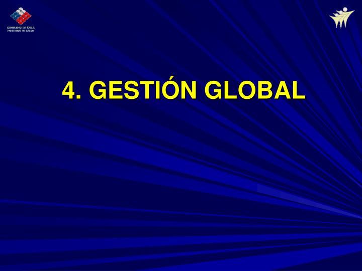 4. GESTIÓN GLOBAL