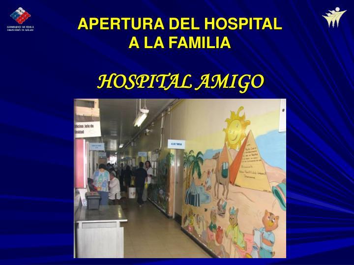 HOSPITAL AMIGO