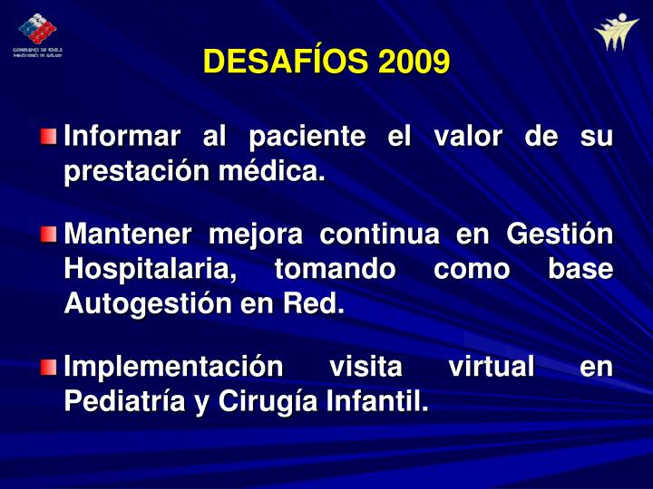 DESAFÍOS 2009