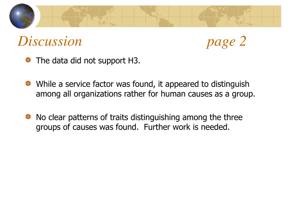 Discussion                                  page 2