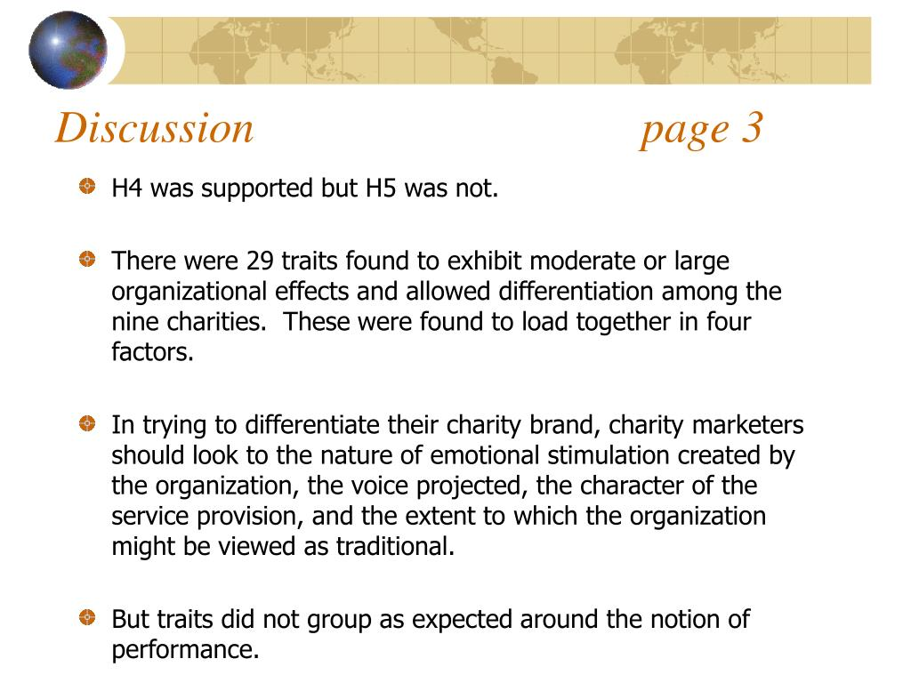 Discussion                                  page 3