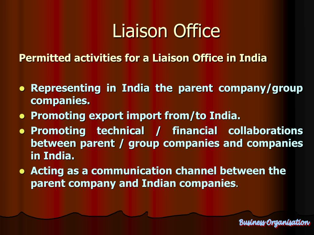 Liaison Office