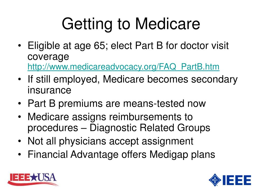 Getting to Medicare