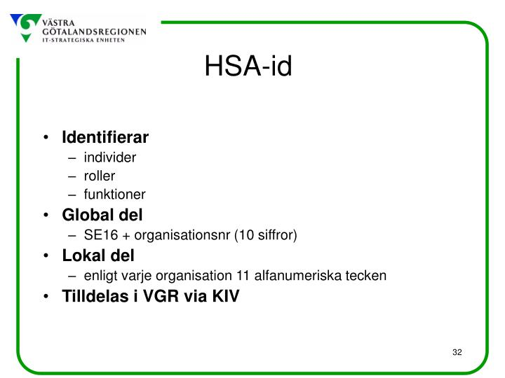 HSA-id