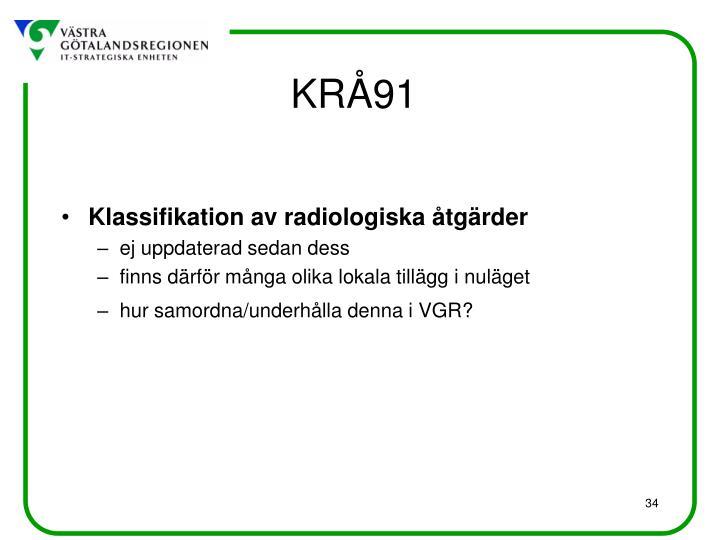 KRÅ91