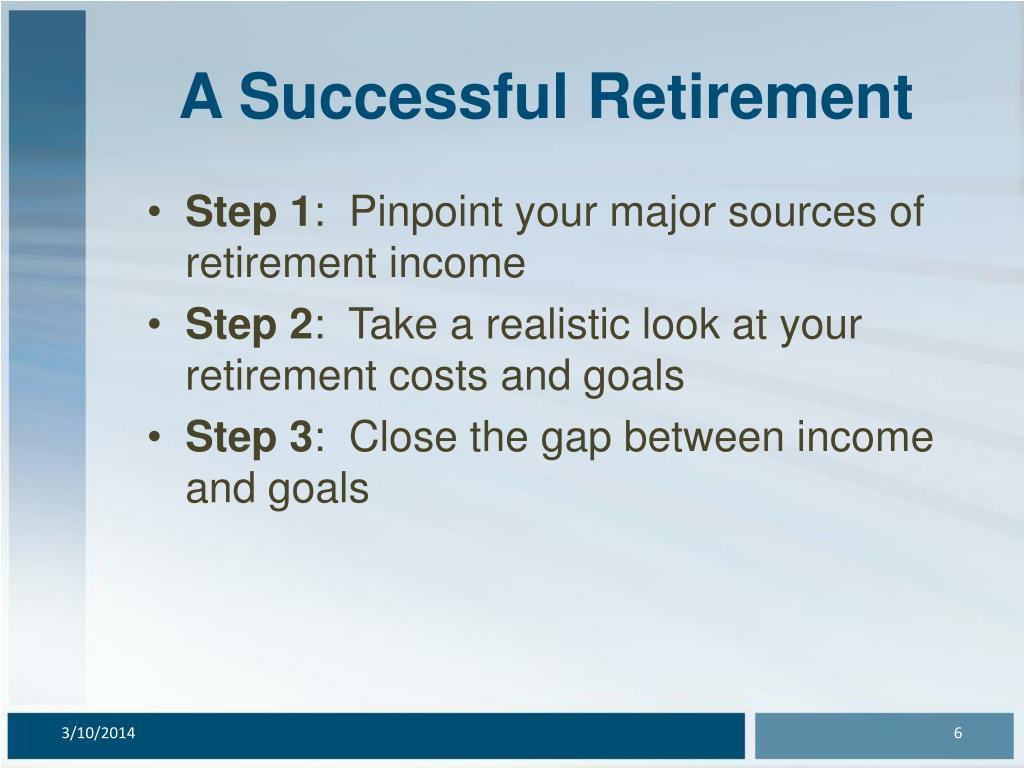A Successful Retirement