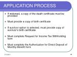 application process11