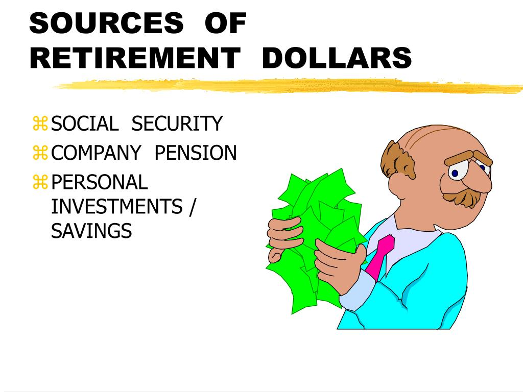 SOURCES  OF  RETIREMENT  DOLLARS