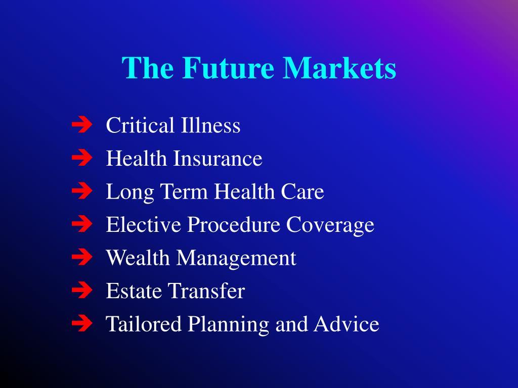 The Future Markets