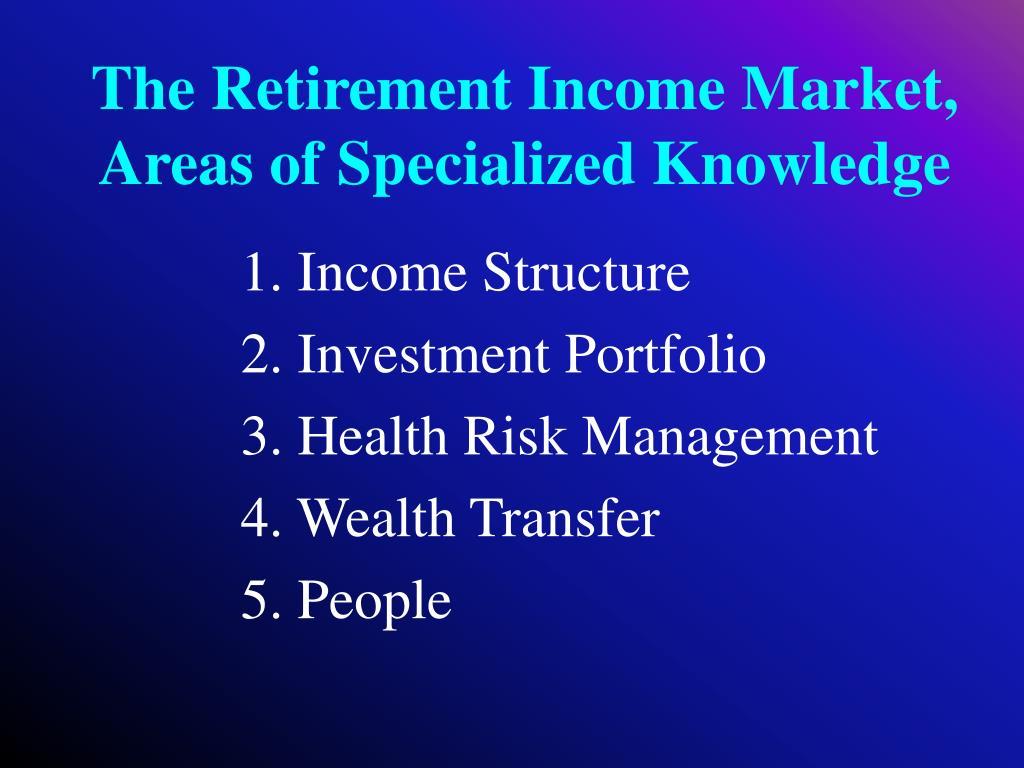 1. Income Structure