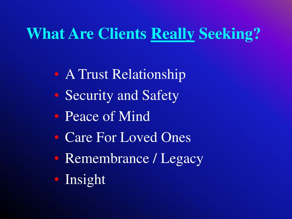 What Are Clients