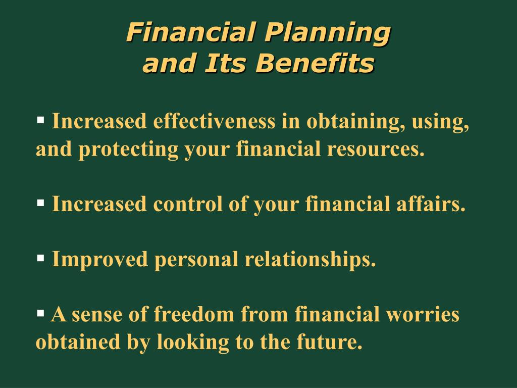 Financial Planning           and Its Benefits