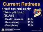 current retirees