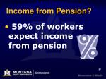 income from pension57