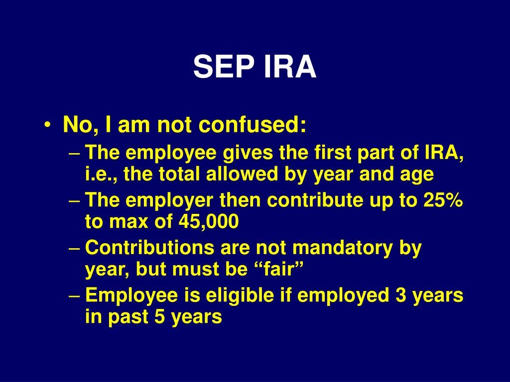 SEP IRA