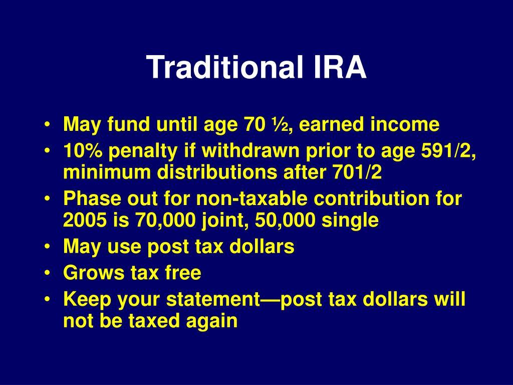 Traditional IRA