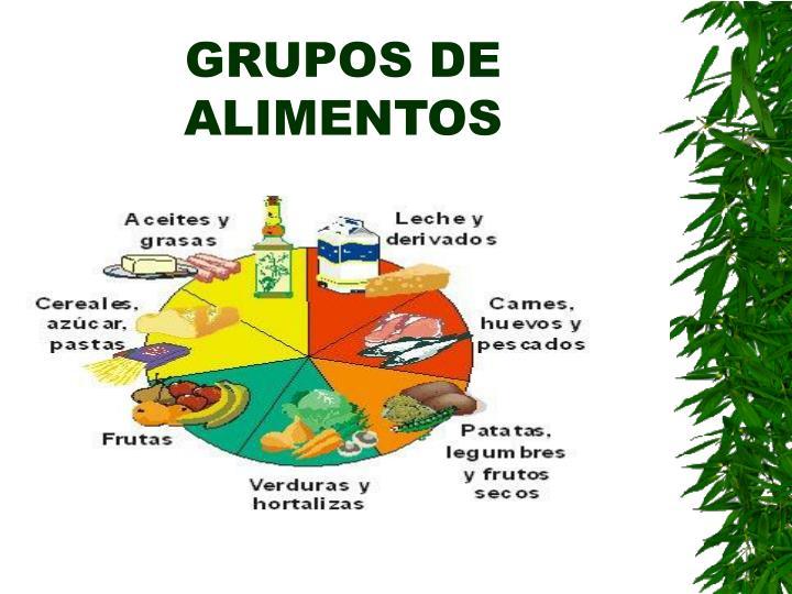 GRUPOS DE ALIMENTOS