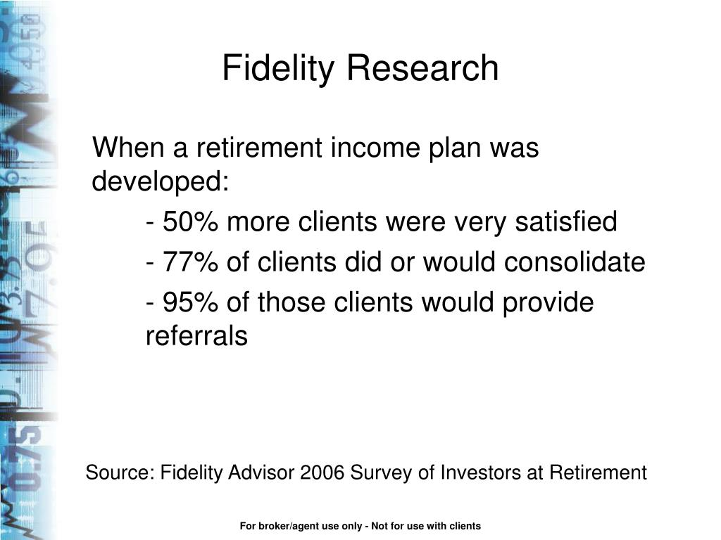 Fidelity Research