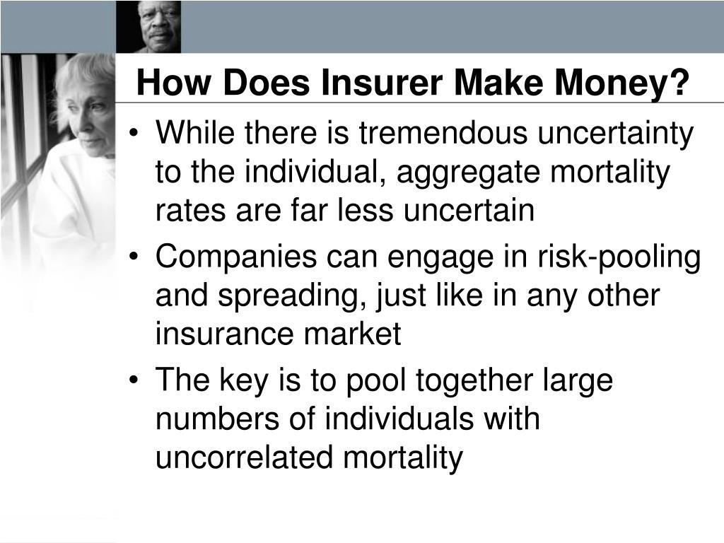 How Does Insurer Make Money?