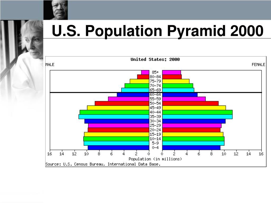 U.S. Population Pyramid 2000
